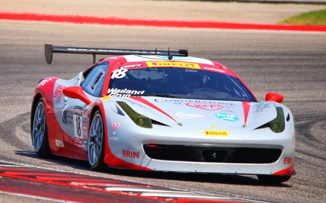 Erin the EMS+ Ferrari 458 Challenge EVO Earns First Place Finish at Circuit of the Americas