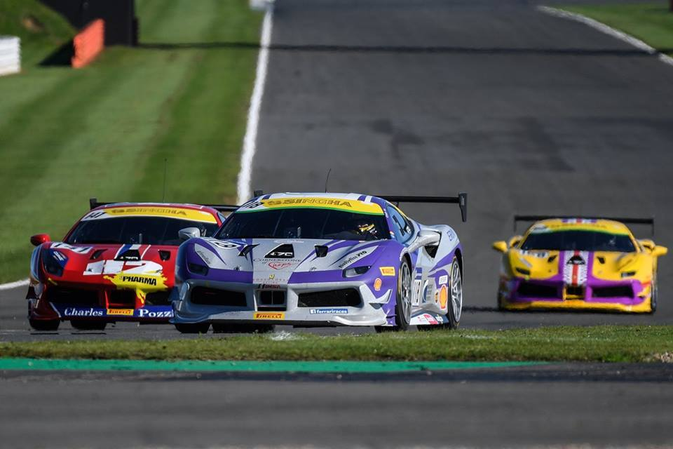 EMS Race Team Earns Podium Finish at Silverstone Circuit in England