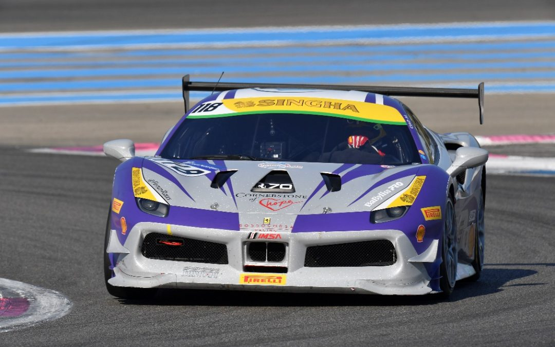 EMS Race Team to Compete in Ferrari Challenge at Silverstone Circuit in England