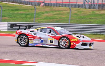 EMS Race Team Battles Adversity at Circuit of the Americas Ferrari Challenge