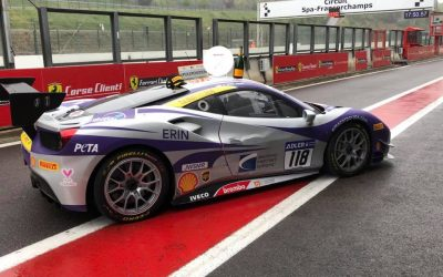 EMS Race Team Earns 1st Place Finish at Circuit de Spa-Francorchamps in Belgium