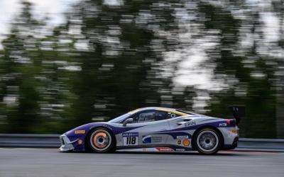 EMS Race Team Races the Brno Circuit in Czech Republic Ferrari Challenge