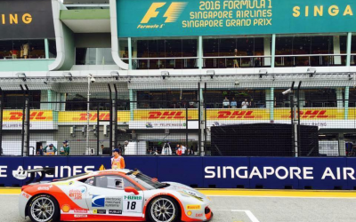EMS Race Team Travels to Singapore for Ferrari Challenge During F1 Weekend