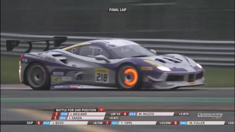 EMS Race Team Earns 2nd Place Finish at Ferrari Challenge World Finals in Italy
