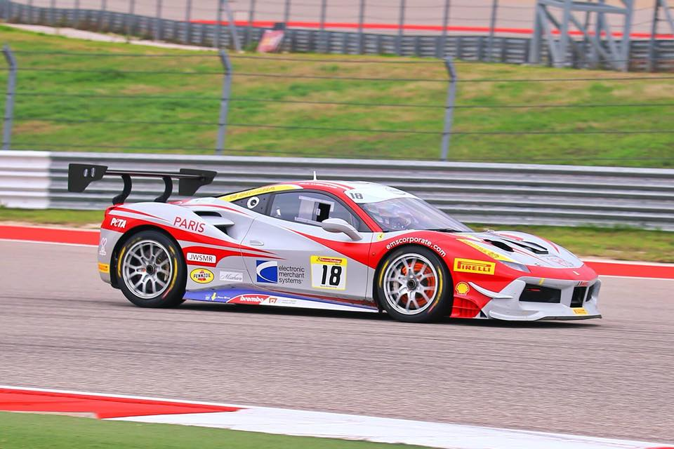 EMS Race Team Travels to Melbourne for Ferrari Challenge During F1 Weekend