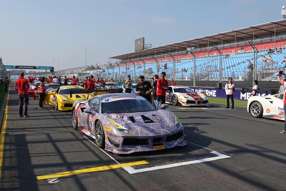 EMS Race Team Earns Podium Finish in Australia for Second-Straight Year