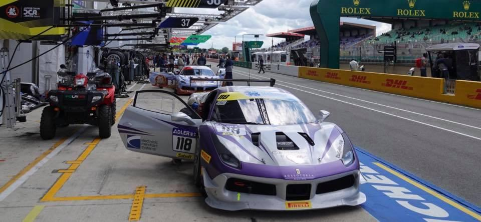 EMS Race Team Triumphs at Le Mans Ferrari Challenge in France
