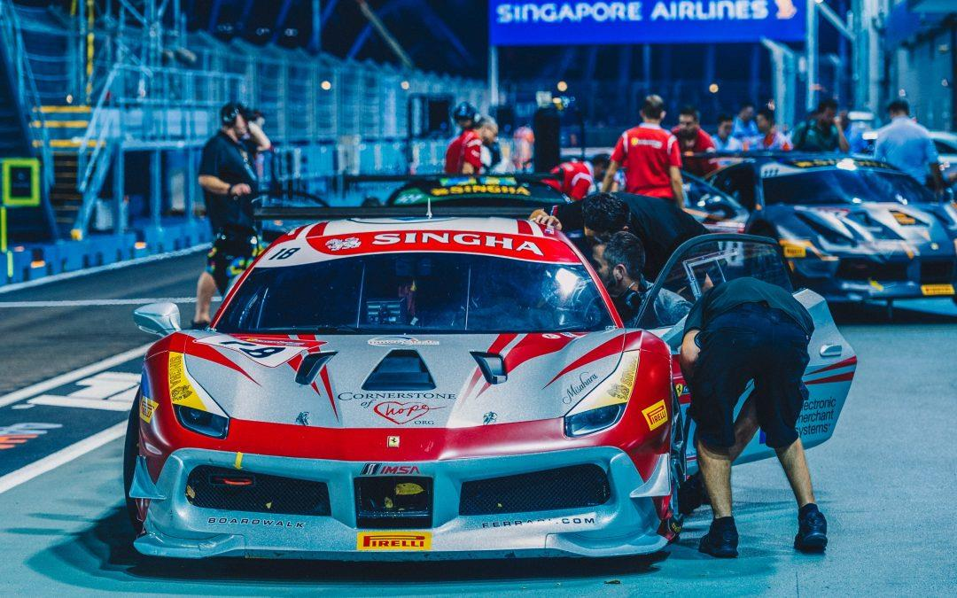 EMS Race Team Returns to Singapore for Ferrari Challenge During F1 Weekend