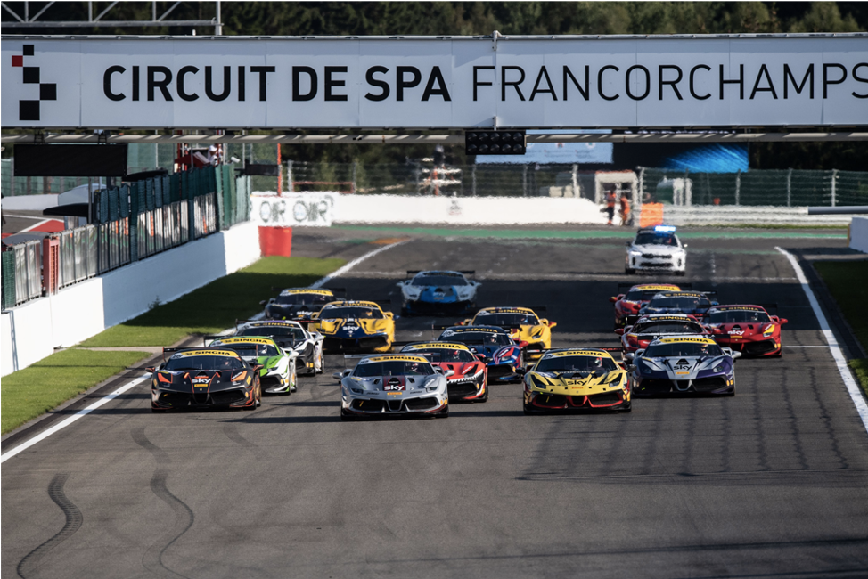 EMS Race Team Comes From Behind to Earn Pair of Podiums at Spa