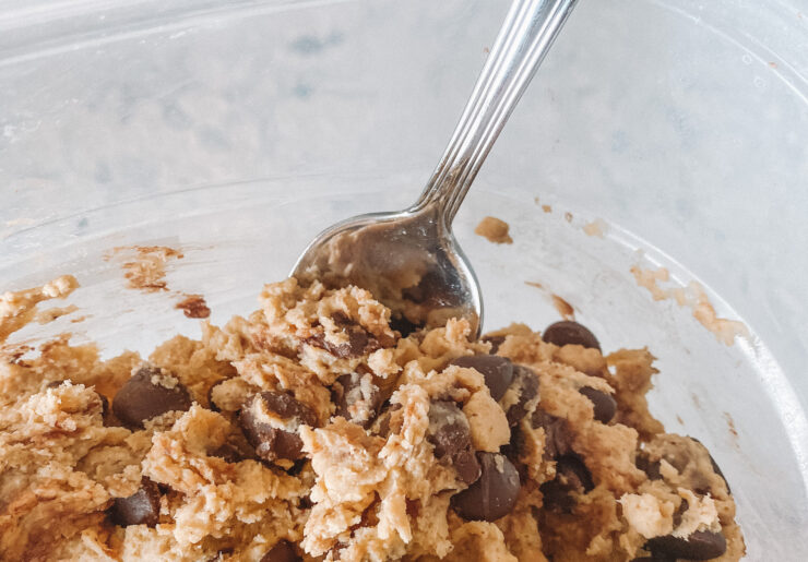 healthy edible cookie dough