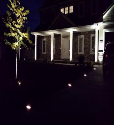 Holiday Lighting by Landscape Medics of Green Bay
