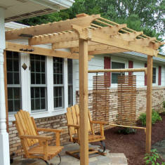 Pergola by Landscape Medics of Green Bay