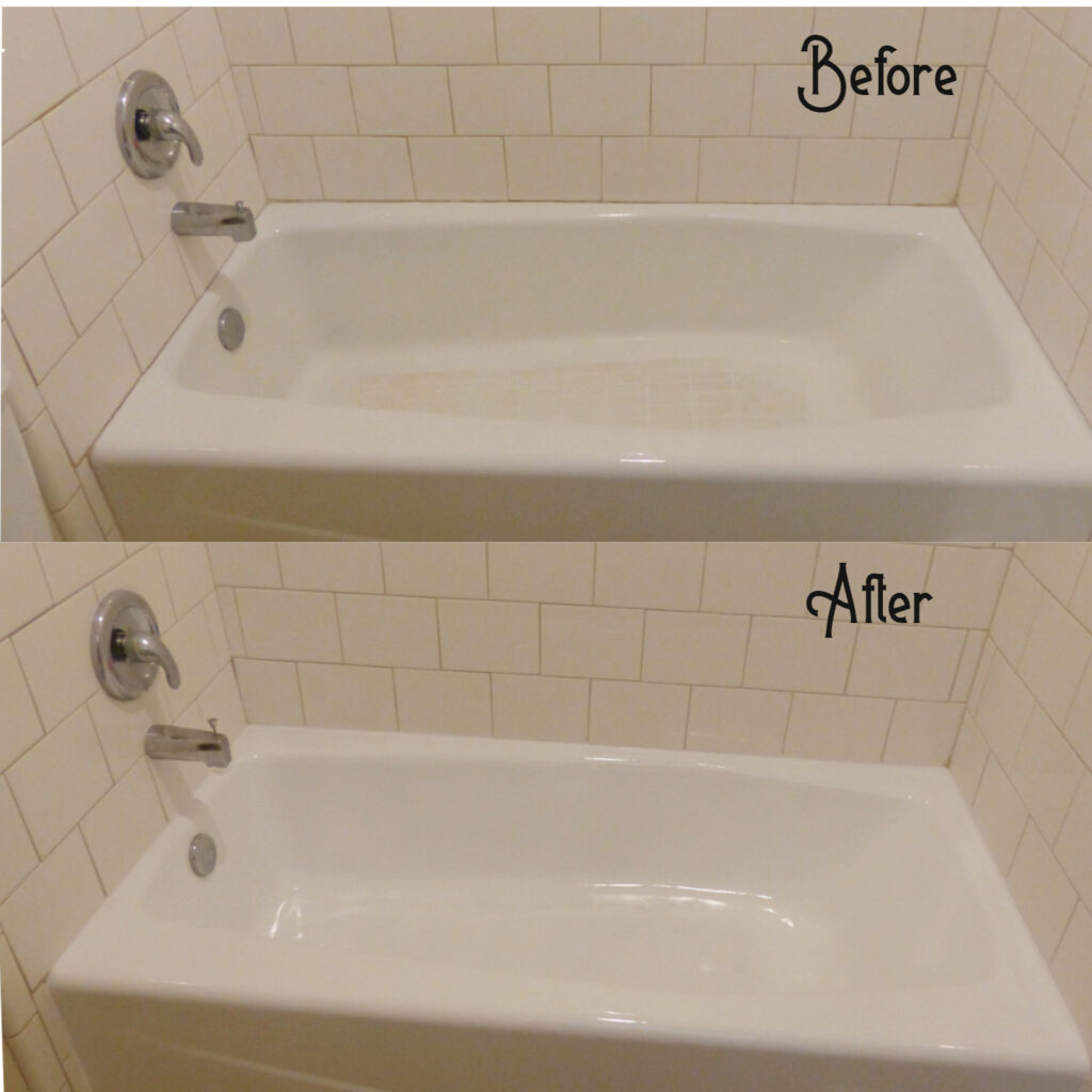 Tub in need of a face-lift