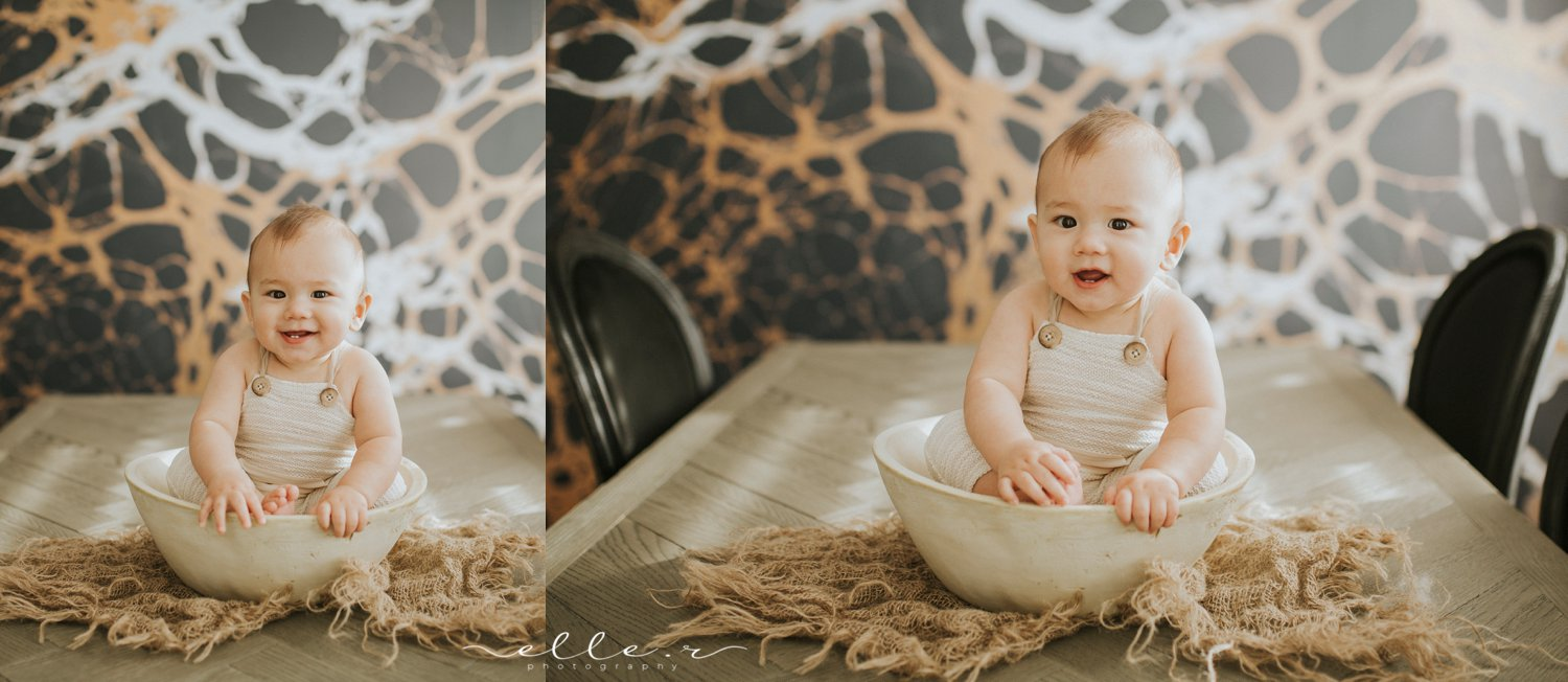 six month milestone photoshoot
