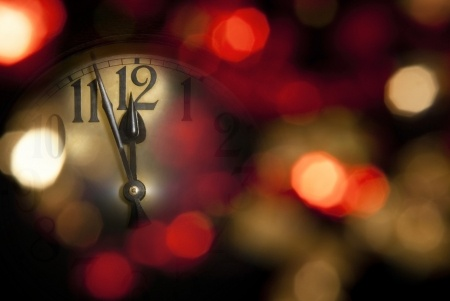 New Year's Clock