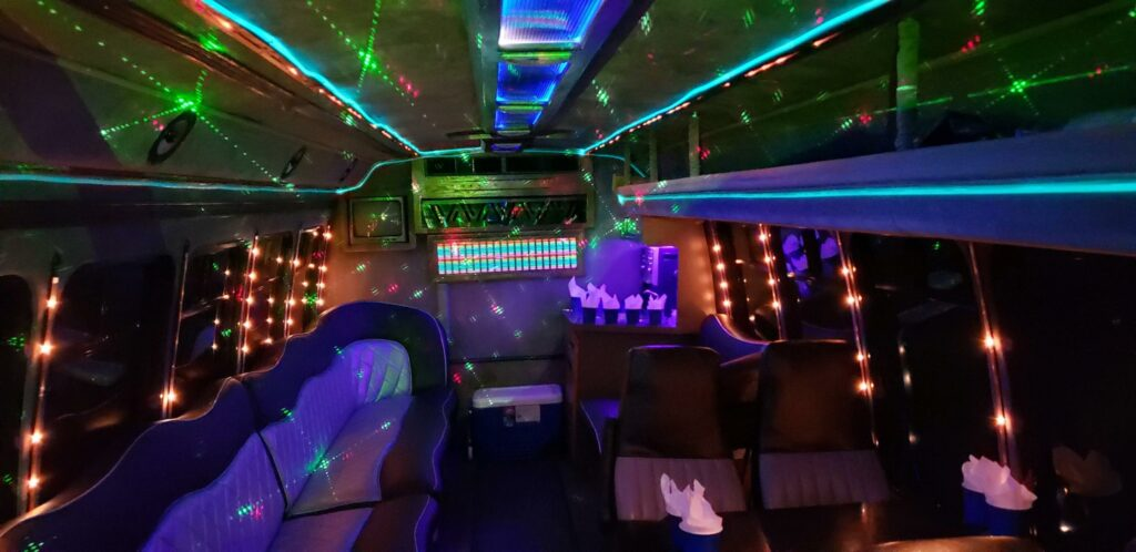 The King George party Bus from New York party Bus