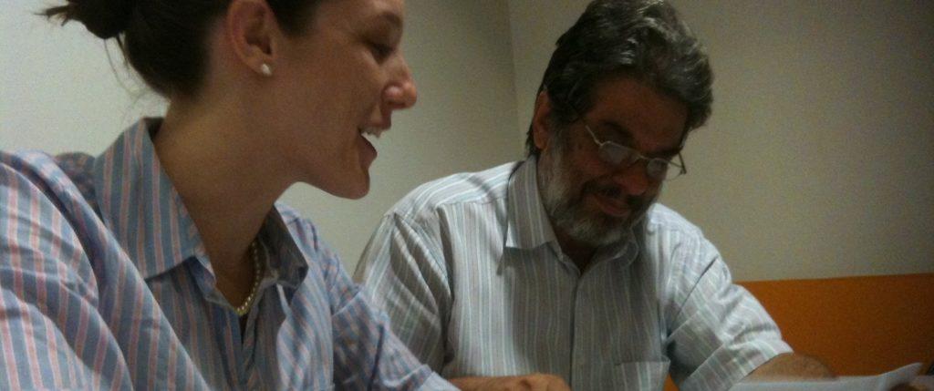 Abraham Sicsú no ato da assinatura do contrato com o Porto Digital