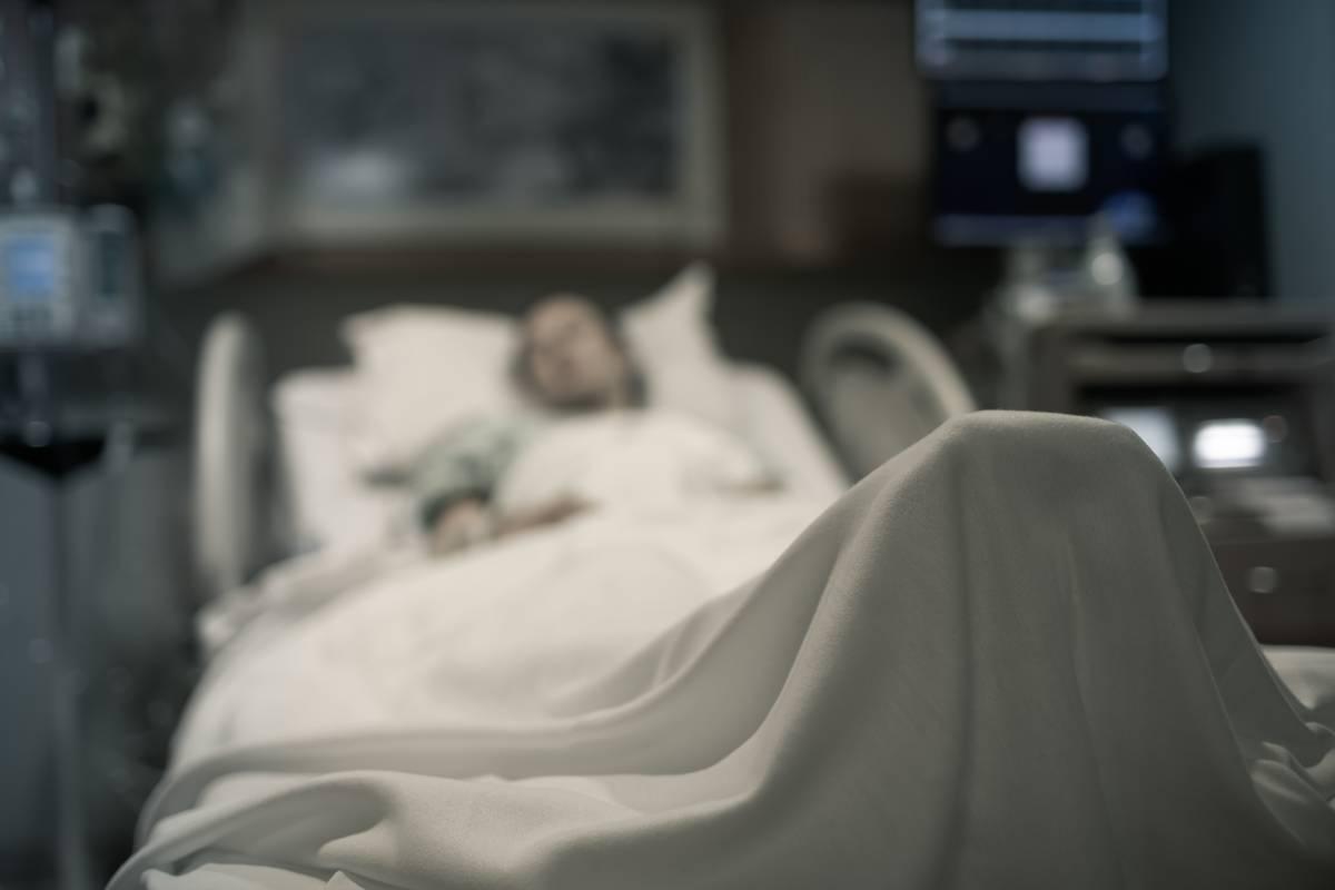 A patient experiences symptoms of catatonia