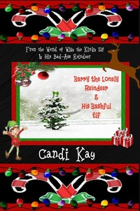 Book Cover: Barry the Lonely Reindeer & His Bashful Elf (#4)
