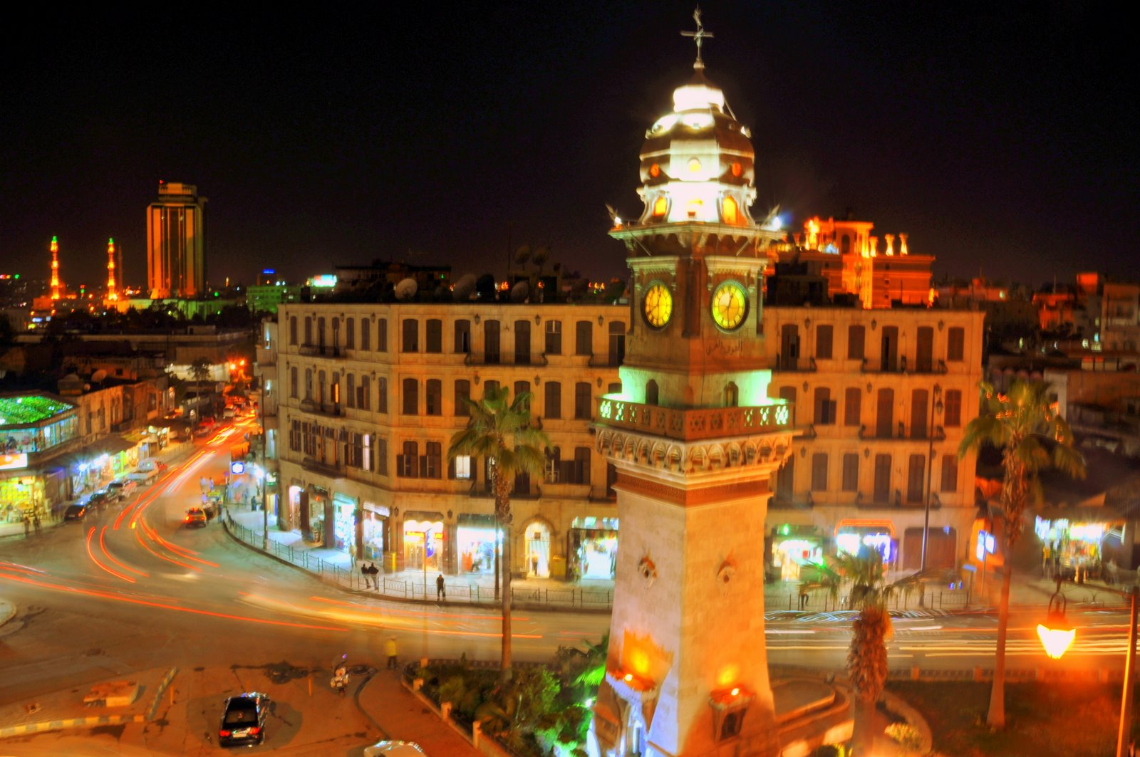 Aleppo_Night_by_Charles_Hajj