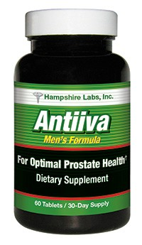 Antiiva prostate support supplement from Hampshire Labs