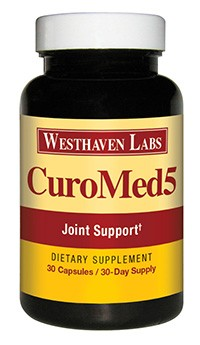 CuroMed5 joint support supplement from Westhaven Labs
