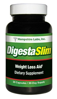 DigestaSlim weight loss supplement from Hampshire Labs