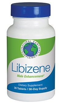 Libizene male enhancement formula from Natural Earth Supplements
