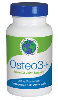 Osteo3+ joint support supplement form Natural Earth Supplements