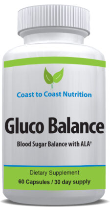 Gluco Balance blood sugar support supplement