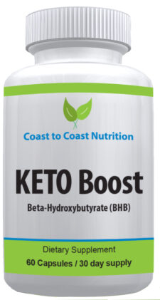 KETO Boost advanced fat burning supplement