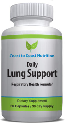 Lung health vitamins