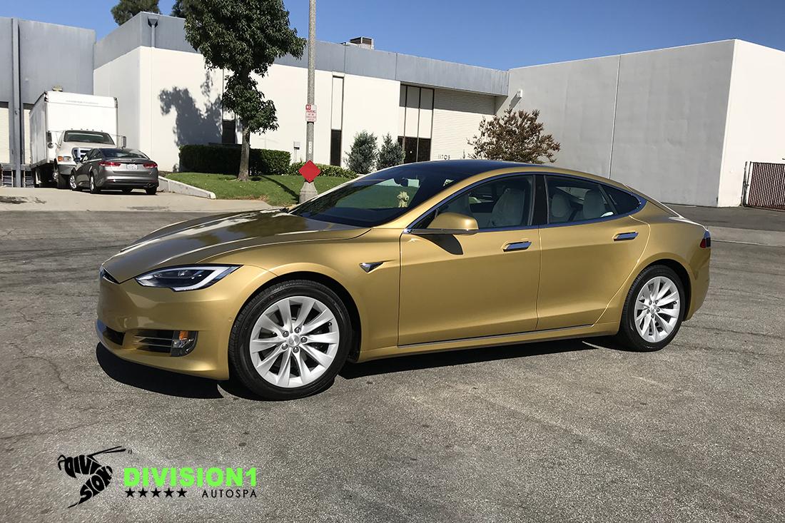 Clear Bra   Ceramic Pro   Tesla S