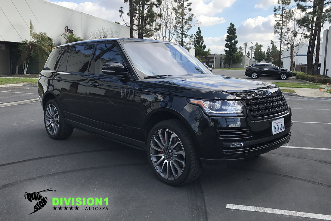 Paint Polish | Clear Bra | Ceramic Pro | Range Rover