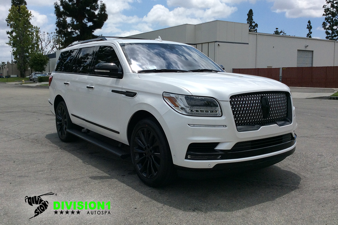 Paint Polish | Clear Bra | Ceramic Pro | Lincoln Navigator