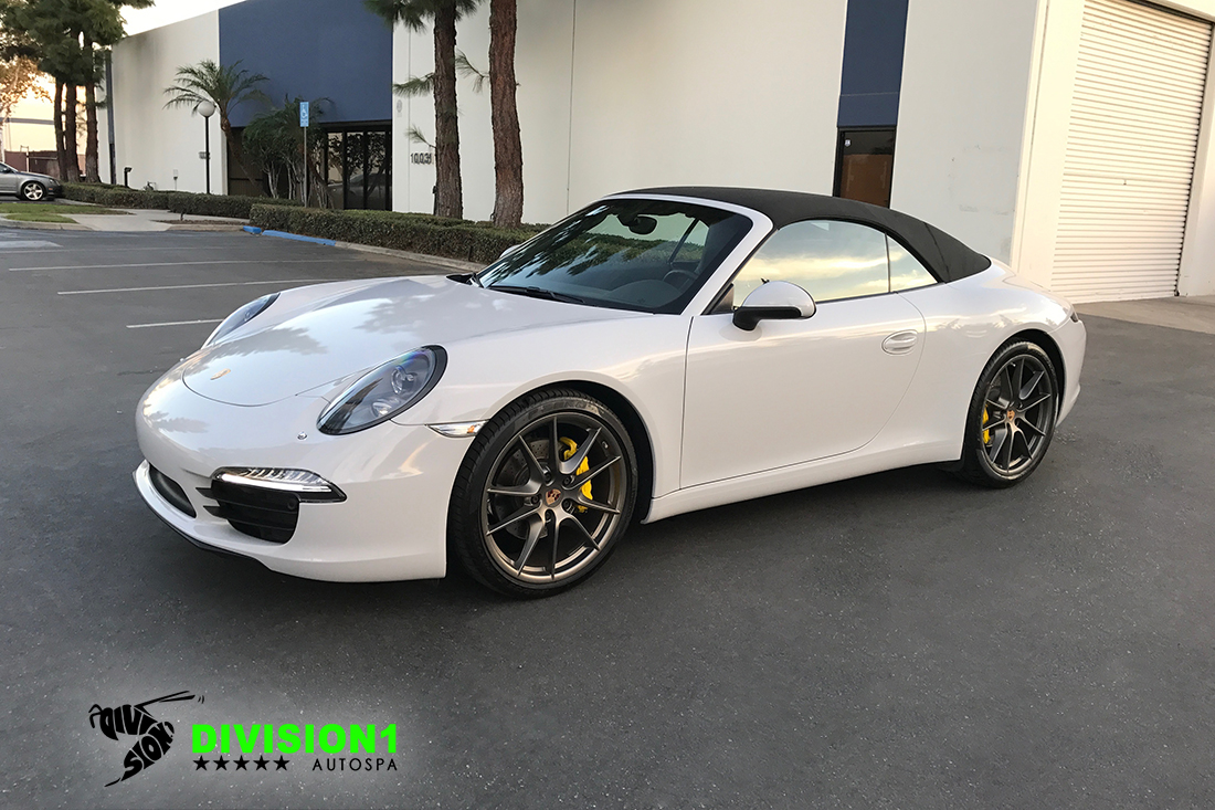 Paint Polish | Clear Bra | Ceramic Pro | Porsche