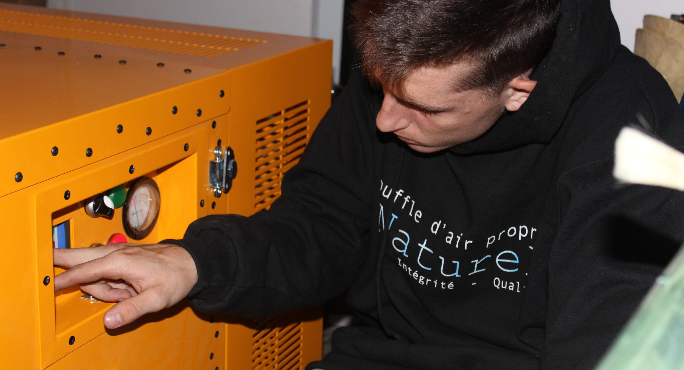 équipement nettoyage conduit ventilation