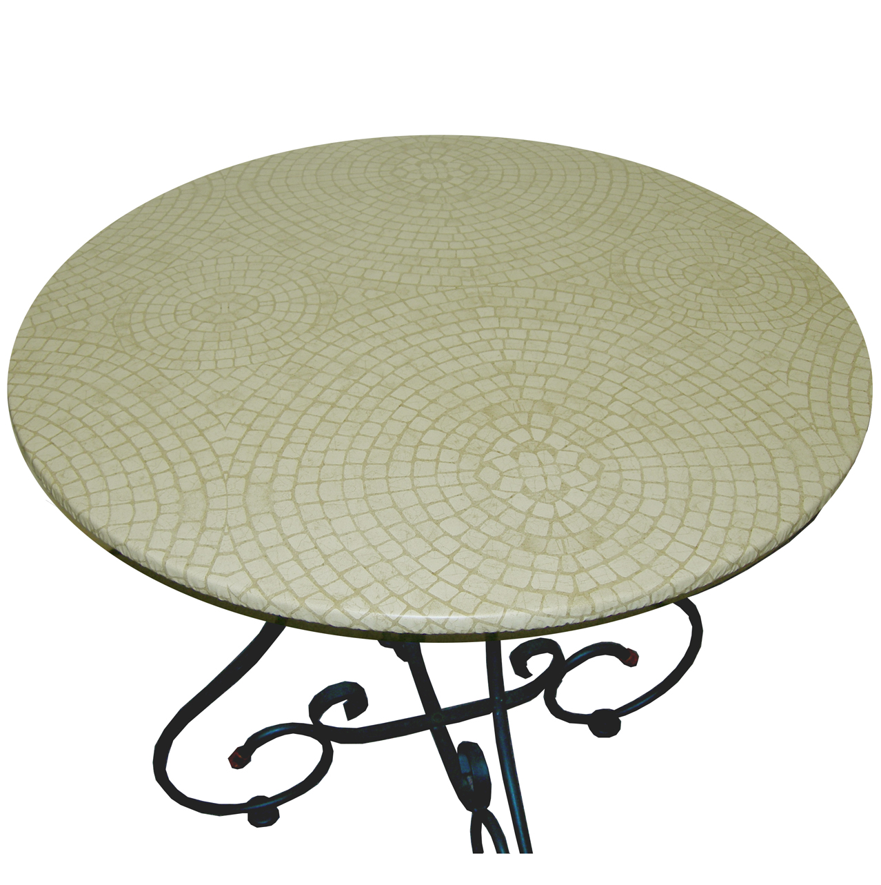 Mosaic Table Beige