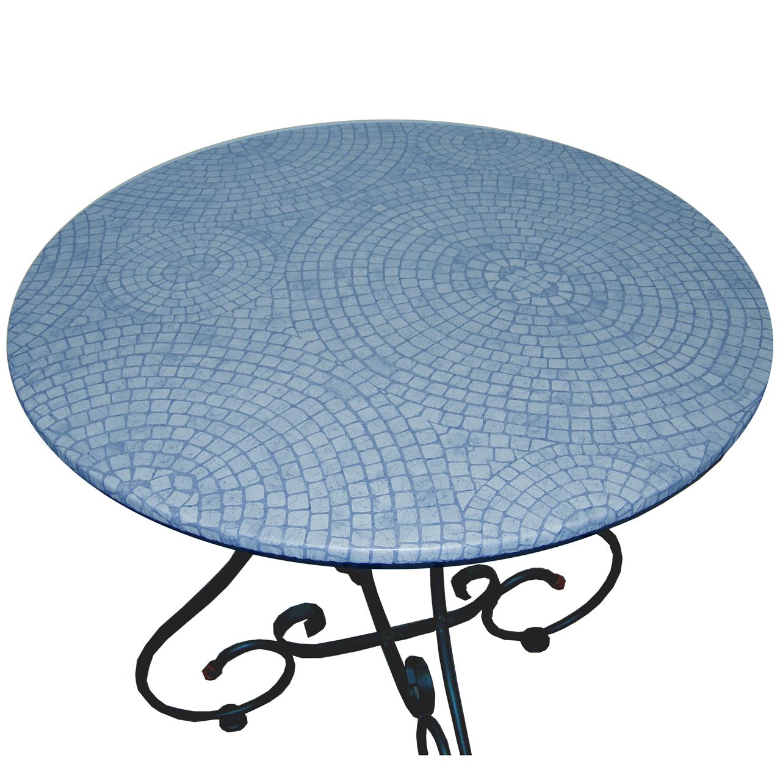 Mosaic Table Blue