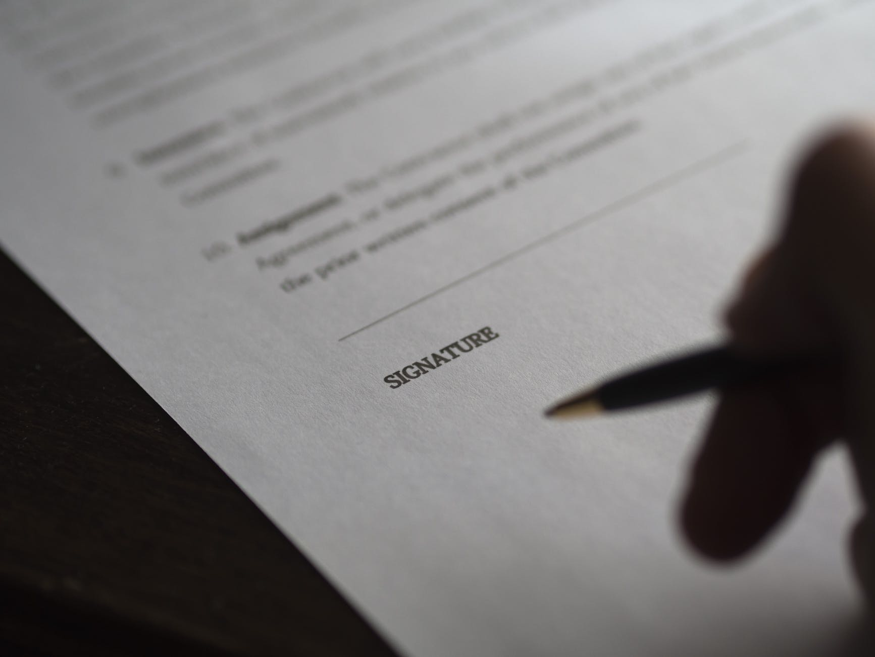 administration agreement blur business
