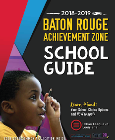 Baton Rouge Achievement Zone 2018-19