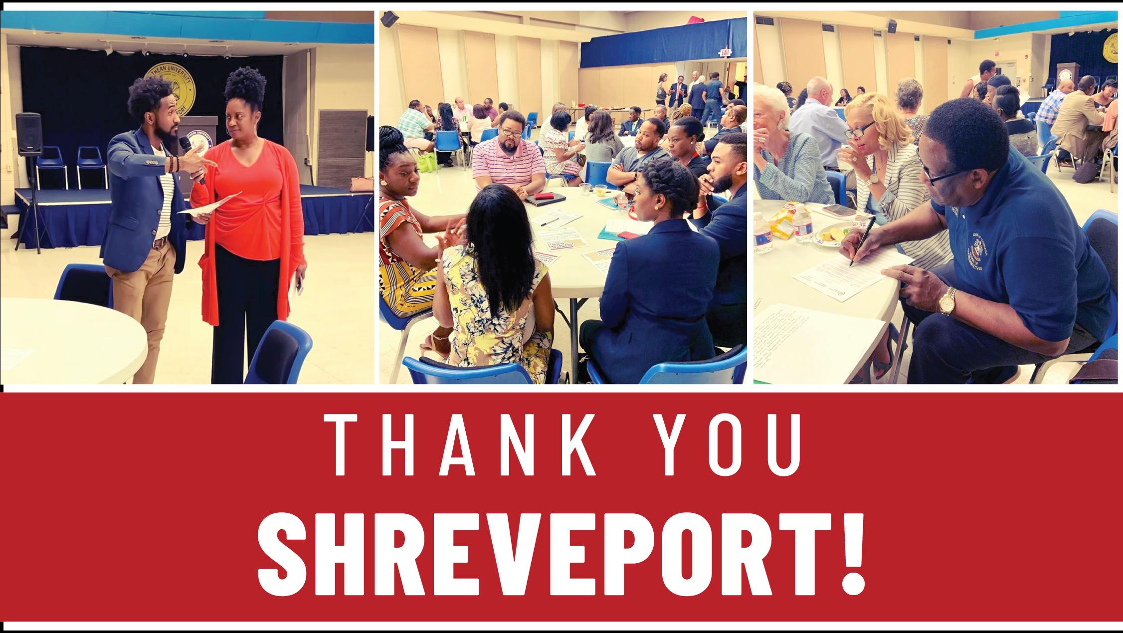 Thank you Shreveport