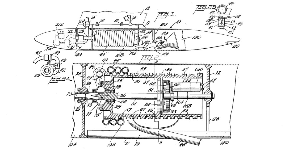 Patent application for a disposable air tanker