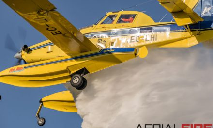 Air Tractor AT-802F begins firefighting work in Croatia