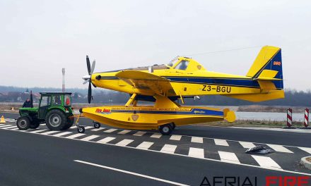 MONTENEGRO MINISTRY OF INTERIOR RECEIVES NEW AT-802 FIRE-FIGHTING AIRCRAFT