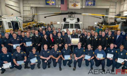 Sikorsky Recognizes L.A. County Fire for Aerial Firefighting Role in Woolsey fire