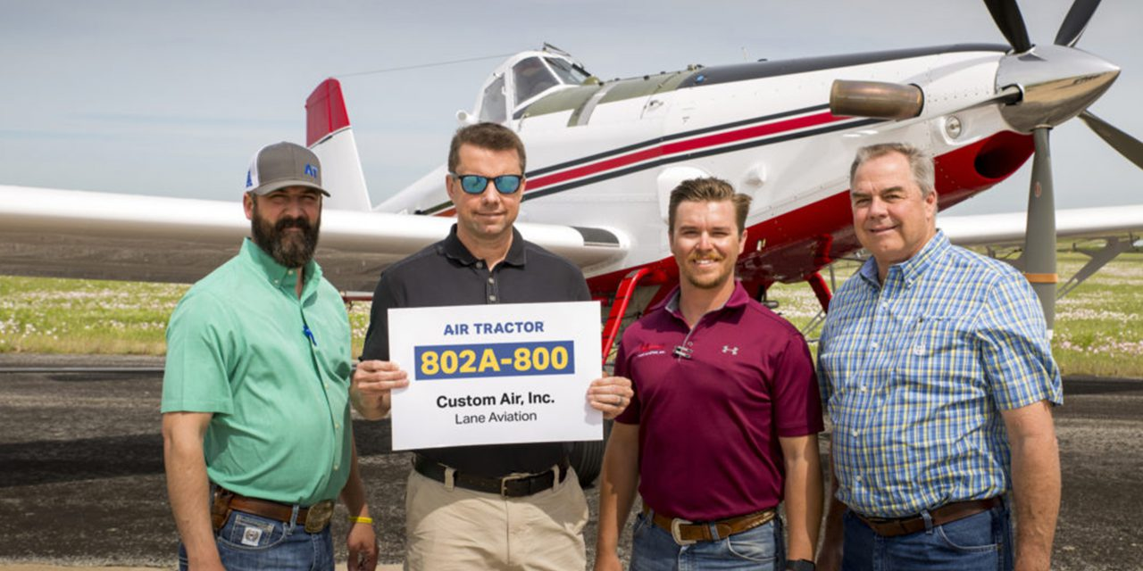 Air Tractor releases 800th aircraft in AT-802 series