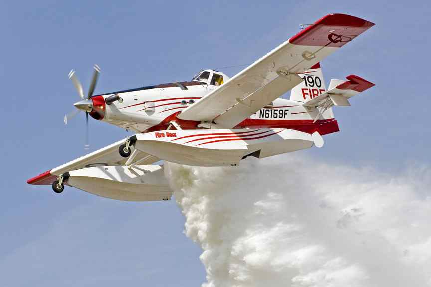 OVFD Gets Up Close & Personal With Air Tractor's Firebosses