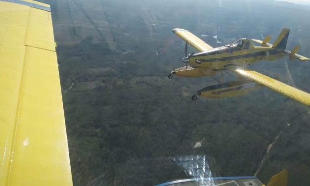 Mato Grosso initiate air campaign against fires with two AT-802F