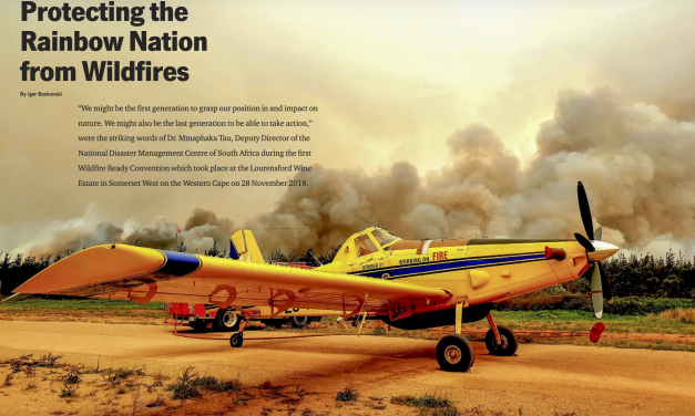 Protecting the Rainbow Nation from Wildfires